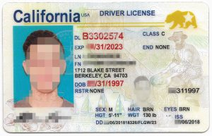10 California Drivers ID Template Drivers license Templates